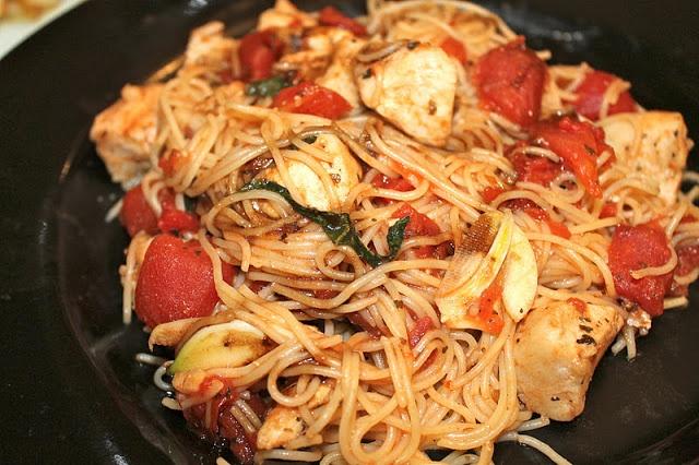 Bruschetta chicken pasta | Italian American Foods | Pinterest