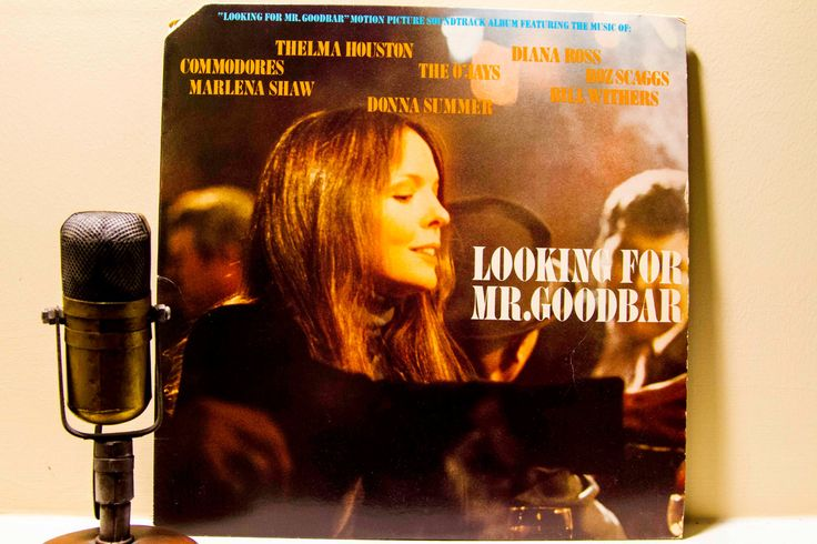 "ON SALE Diane Keaton Vinyl Record Album 1970s Movie Soundtrack Sex Richard Gere Lp ""Looking for Mr. Goodbar""(Orig. 1977 CBS)"