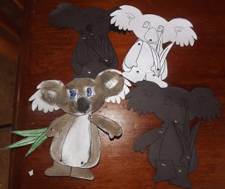 Seven Little Australians and Counting: Koala Craft