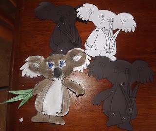 Koala Craft | A Book & Activity
