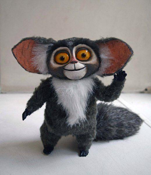 #Moris #Madagascar #cartoon #artdoll #arttoy #handmade