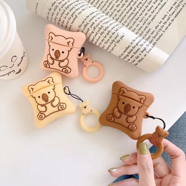 Lotte Koala Cookie Airpods Airpods Pro Cases Airpod Case