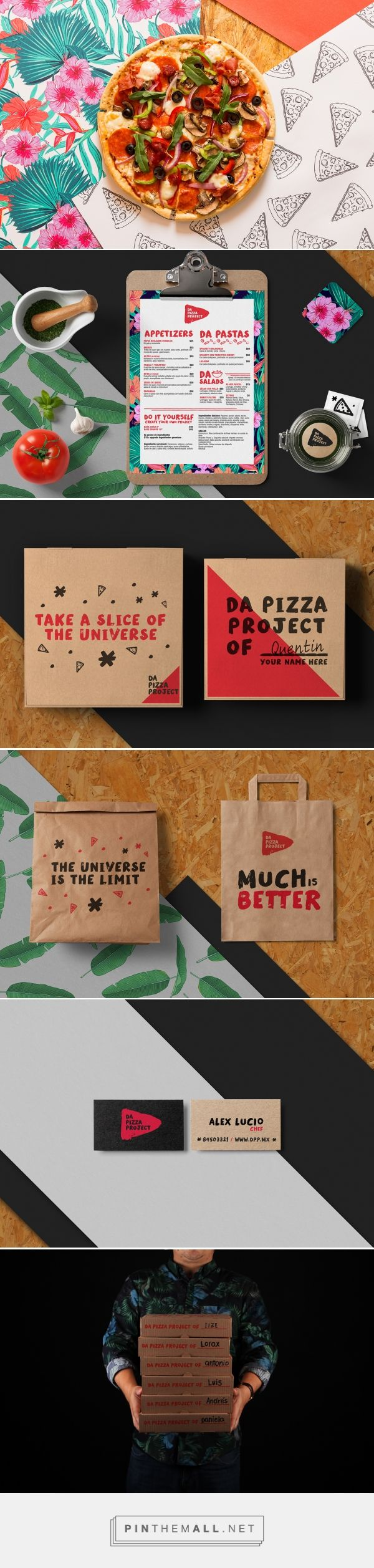 Da Pizza Project / Do it Yourself on Behance - created via http://pinthemall.net