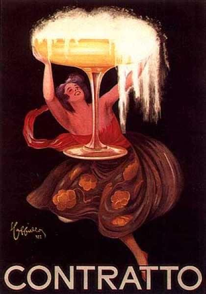 Contratto by Leonetto Cappiello (1922)