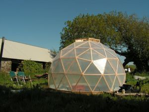 Dome greenhouse | a woodwork