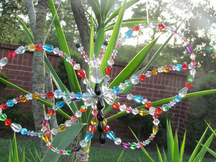 Crystal Butterfly Garden Sun Catcher :: Hometalk