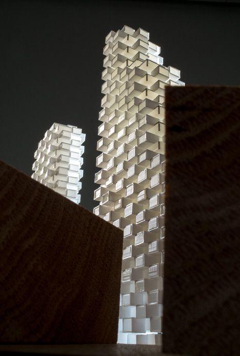 Architectural Model - Stockholm, OMA