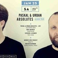 Paskal & Urban Absolutes Live @ Distillery Leipzig 25.01.2014 by Paskal & Urban Absolutes on SoundCloud