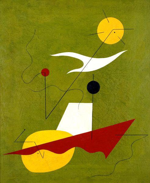 Charles Green Shaw (1892-1974), Navigation, 1940