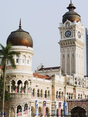 Sultan Abdul Samad Building, Merdeka Square, Kuala Lumpur, Malaysia, Southeast Asia, Asia