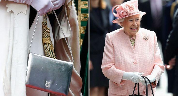 Estas son las señas secretas que la Reina le hace a su equipo usando su cartera o anillos