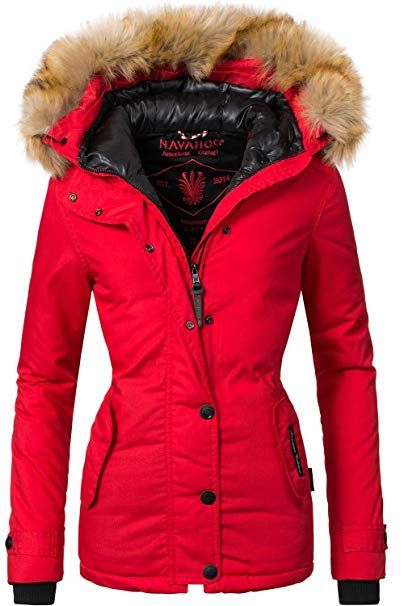 60604a319314e0 Navahoo Damen Winter Jacke Winterparka Laura 10 Farben XS-XXL: - Winter  Outfits Frauen