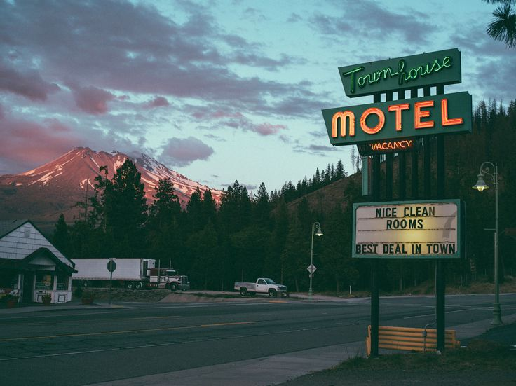 Go on a Road trip and stay in a motel