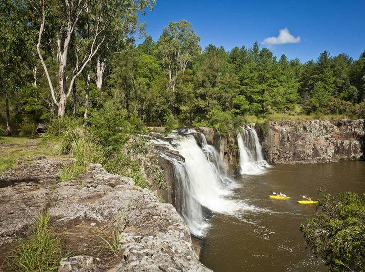 Camping in paradise. #waterfall #australia http://jason.bennee.com/blog/2018/04/tooloom-falls/