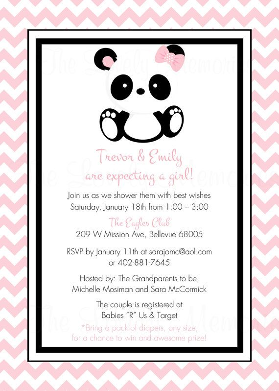 If we ever had a little panda of our own :) https://www.etsy.com/listing/155785789/baby-panda-baby-shower-party-printable