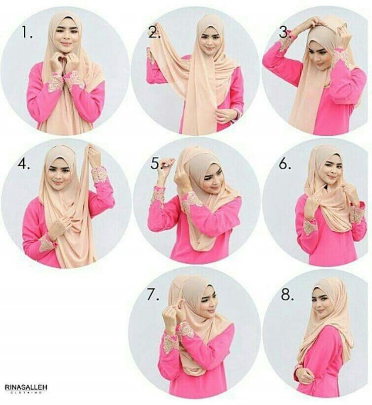 Nice hijab tutorial.