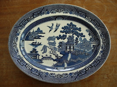 How To Draw A Willow Pattern Plate Clay Pinterest