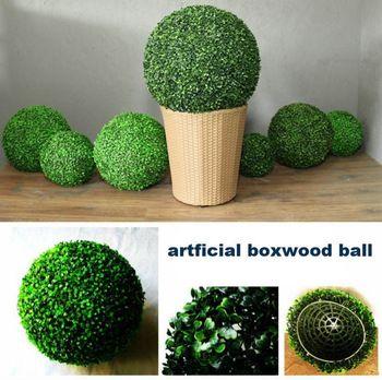 artificial boxwood ball,wedding decoration,boxwood kissing ball