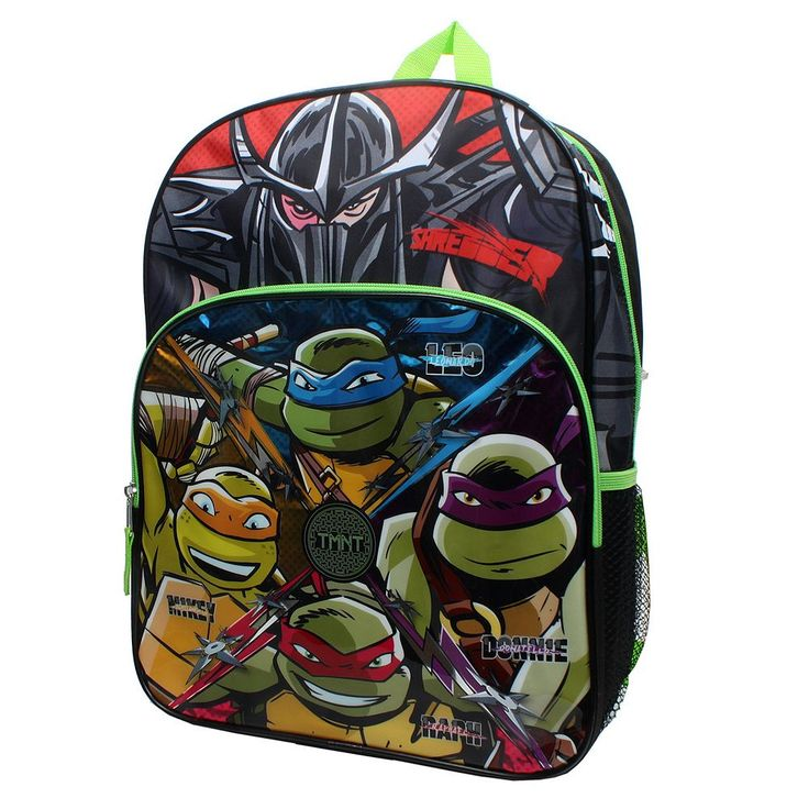 Kids Teenage Mutant Ninja Turtles Shredder Backpack, Multicolor