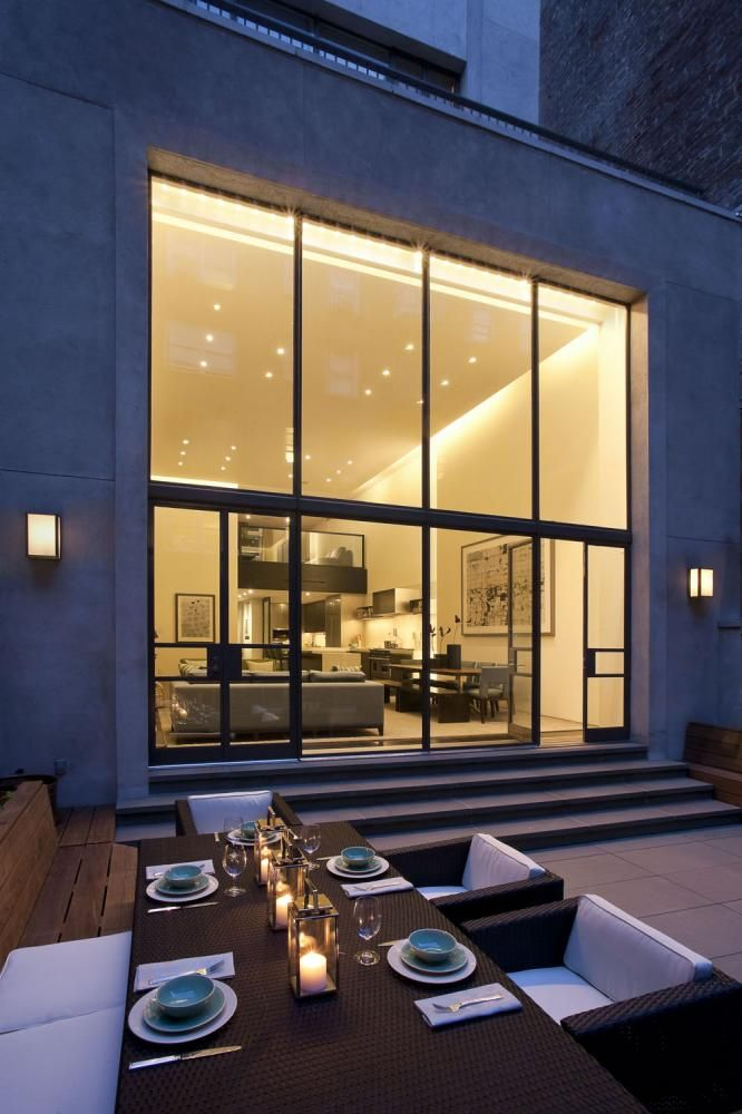windows: Interior Design, Outdoor Dining, Ideas, Window, Outdoor Living, Exterior, Dream House, Upper East Side