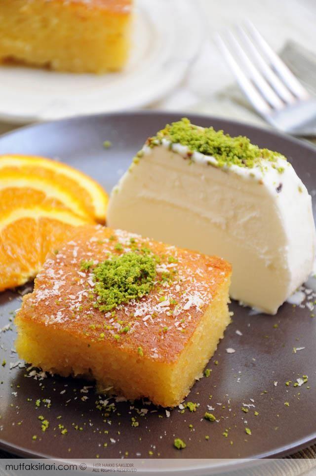 Dondurmalı Portakallı Revani Tarifi | Mutfak Sırları