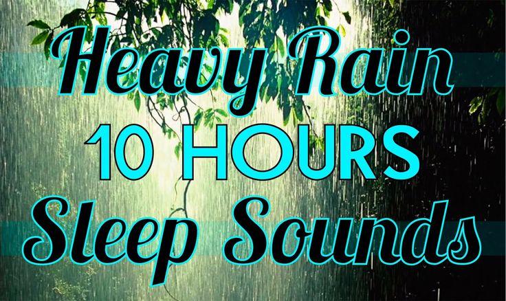 """""""Rain"""" 10 hours of """"Rain Sounds"""" """"Sleep Sounds"""" 10hrs Rainfall HD"""