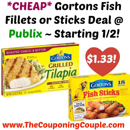 AWESOME PRICE!!!! *CHEAP* Gortons Fish Fillets or Sticks Deal @ Publix ~ Starting 1/2!  Click the link below to get all of the details ► http://www.thecouponingcouple.com/cheap-gorton-fish-fillets-or-sticks-publix-starting-12/ #Coupons #Couponing #CouponCommunity  Visit us at http://www.thecouponingcouple.com for more great posts!