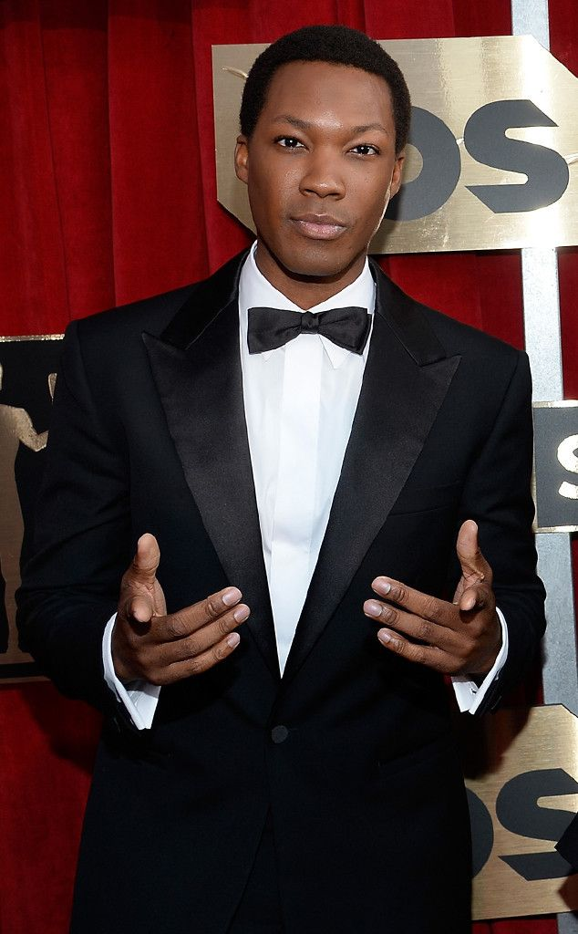 Corey Hawkins from Best Dressed Men at the  SAG Awards 2016  This newcomer is definitely on our radar now thanks to his laser cut Versace blazer.The Straight Outta Compton star stunned on the red carpet.