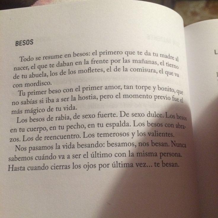 """Defreds, de su libro """"Casi sin querer""""."""