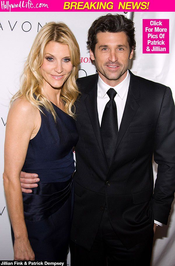 Patrick Dempsey & Wife Jillian Fink Call Off Divorce: Split Was 'Making Him Miserable'