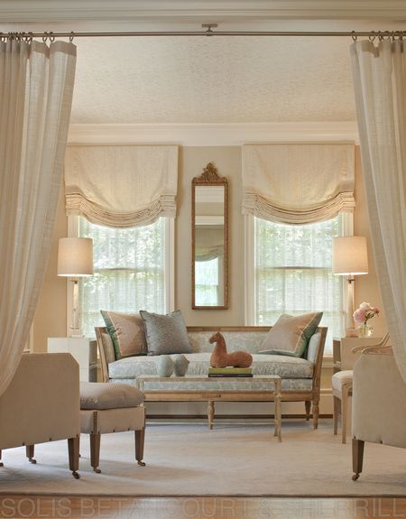 Residence In Washington, DC (Observatory Circle) Library Living  TraditionalNeoclassical Transitional By Solis Betancourt U0026 Sherrill