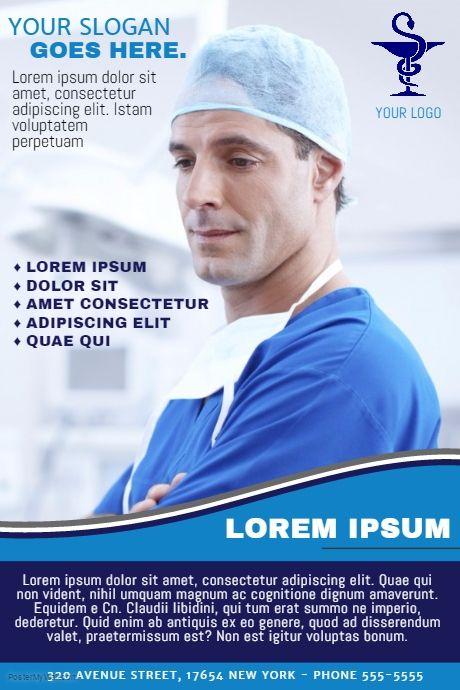 16 Best Medical Health Flyer Template Images On Pinterest Medical
