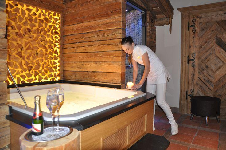 Lust auf etwas Zeit zu zweit? Gönnen Sie sich Erholung pur mit ihrer/ihrem Liebsten im Alpine Palace Private Spa! #alpinepalace