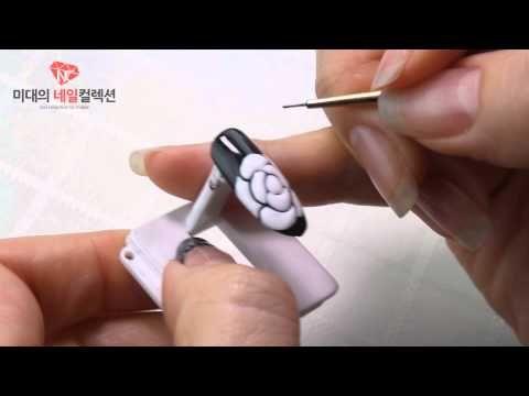 [혼자서도 잘해요] 시스루 별 그리기/nailcollection by midae - YouTube