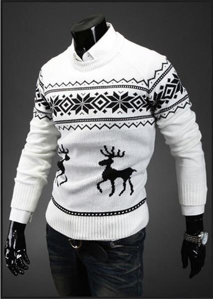 Мужские зимние свитера фото