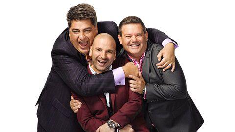 De helden van mijn dagelijkse soap  Matt Preston, George Calombaris en mijn favoriete smulpaap Gary Mehigan ! I ❤️ Masterchef Australia