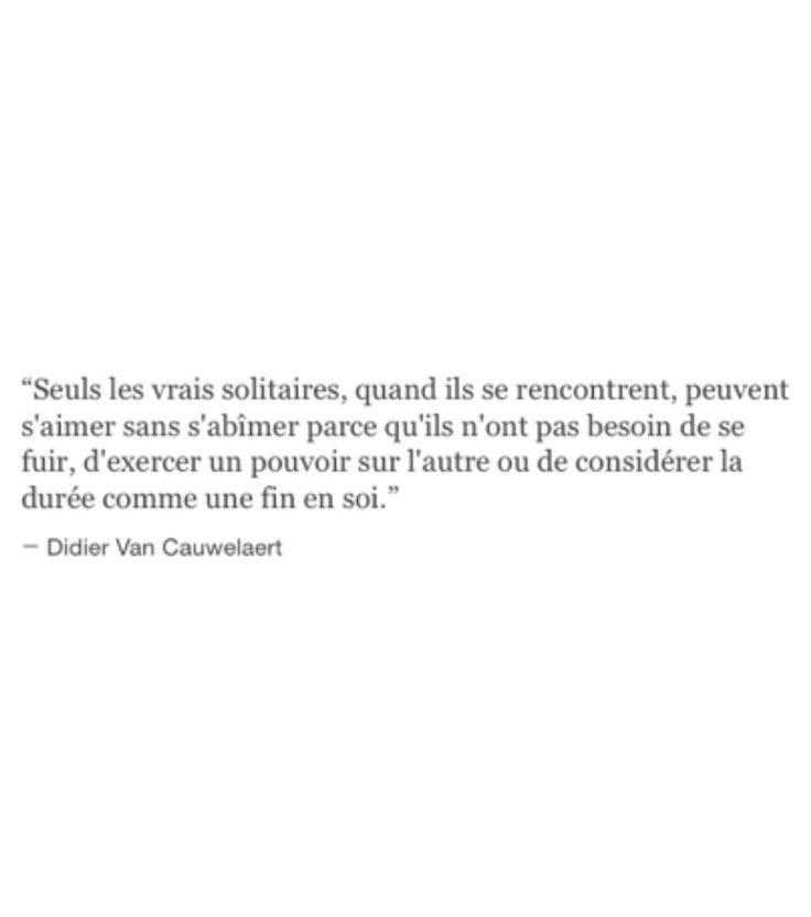 Didier Van Cauwelaert - Seuls les vrais solitaires ...
