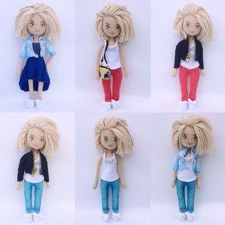 Куклы для мужчин схема