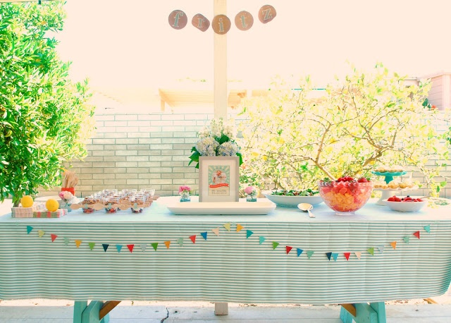 Baby blessing party just for d pinterest