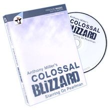 Colossal Blizzard by Anthony Miller and Penguin Magic - DVD