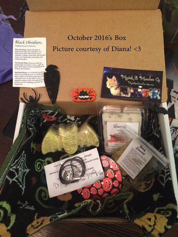 Witch Bitch Subscription Box Monthly by MagickAndMacabre on Etsy