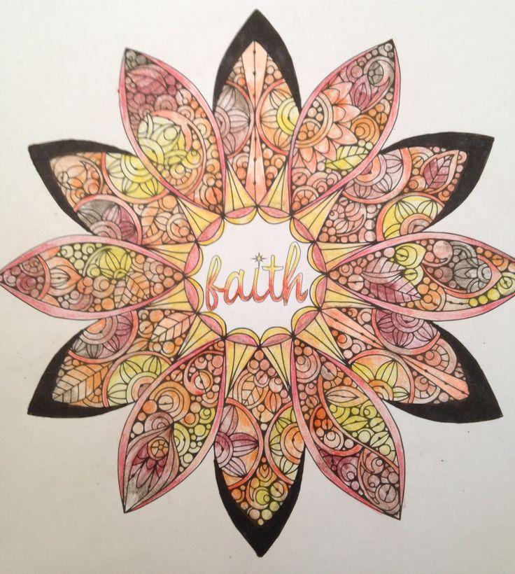 FAITH Mandala #ColorLife