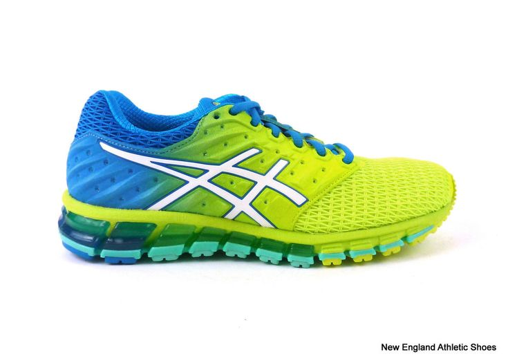 Asics women's Gel-Quantum 180 2 running shoes sneakers Yellow White Blue  Jewel