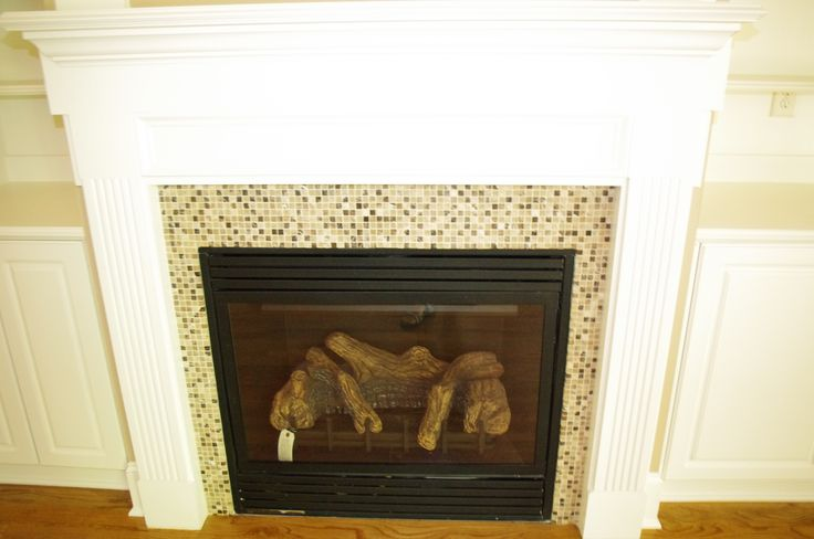Mosaic Tile Around Fireplace Sue 39 S House Ideas