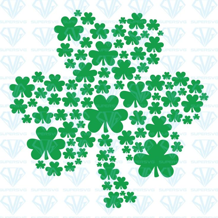 Download St. Patrick's Day svg - Shamrock svg - Clover SVG Files ...