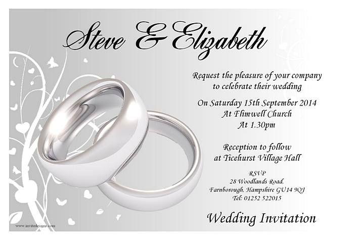 Wedding Invitation Sample Marina Gallery Fine Art Wedding Invitation Layout Personalised Wedding Invitations Wedding Invitation Templates