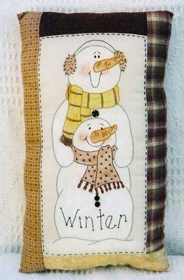 Snowman/Winter via Flickr.