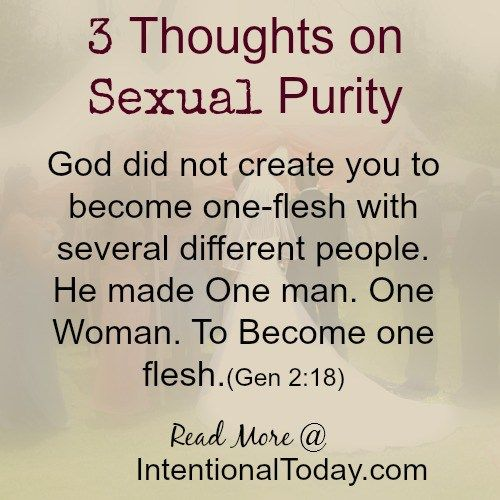 3 thoughts on sexual purity and why its not lame