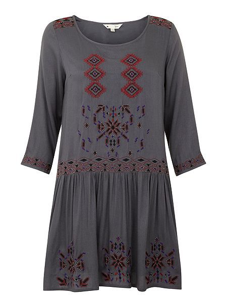 £29.00  Eclectic Embroidery Dress
