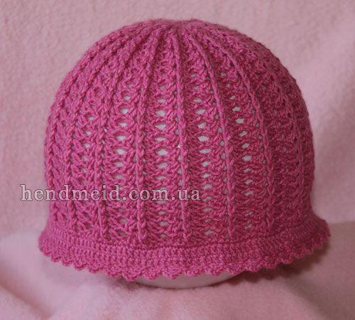 """cap for girls """"Tenderness"""""""